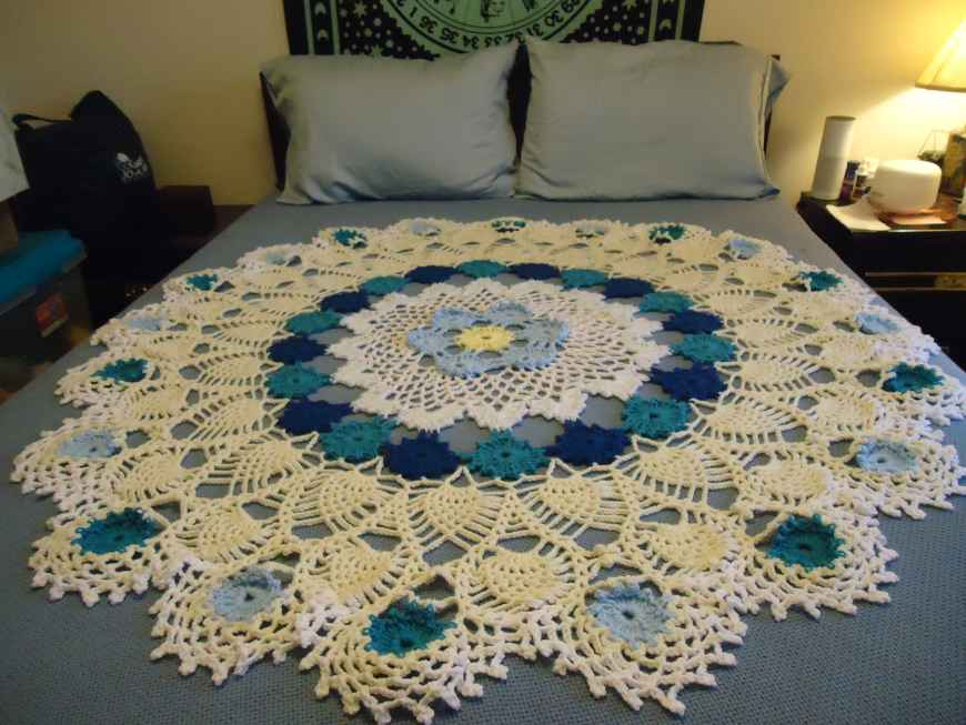 Queen Size Doily